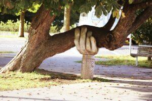 a happy tree
